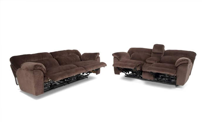 Brava Power Reclining Sofa & Console Loveseat