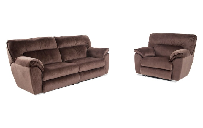 Brava Power Reclining Sofa U0026 Power Recliner
