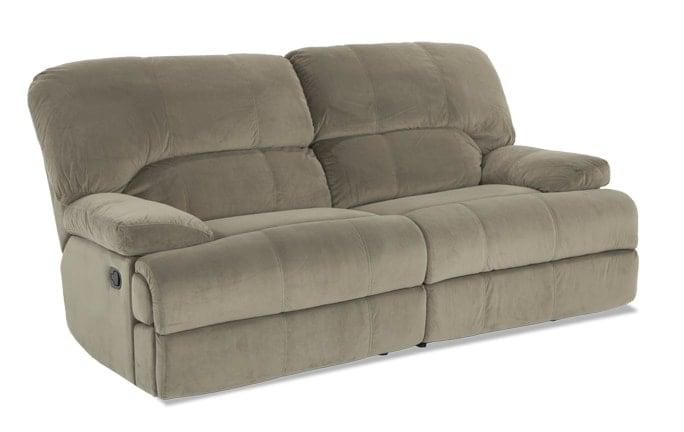 Brandon Green Manual Reclining Sofa