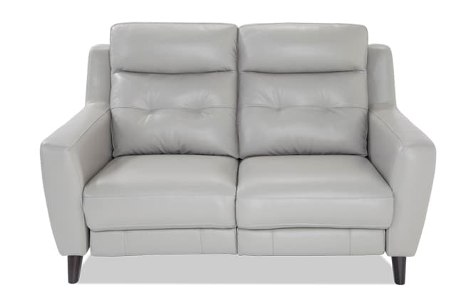 Stratus Leather Power Reclining Loveseat
