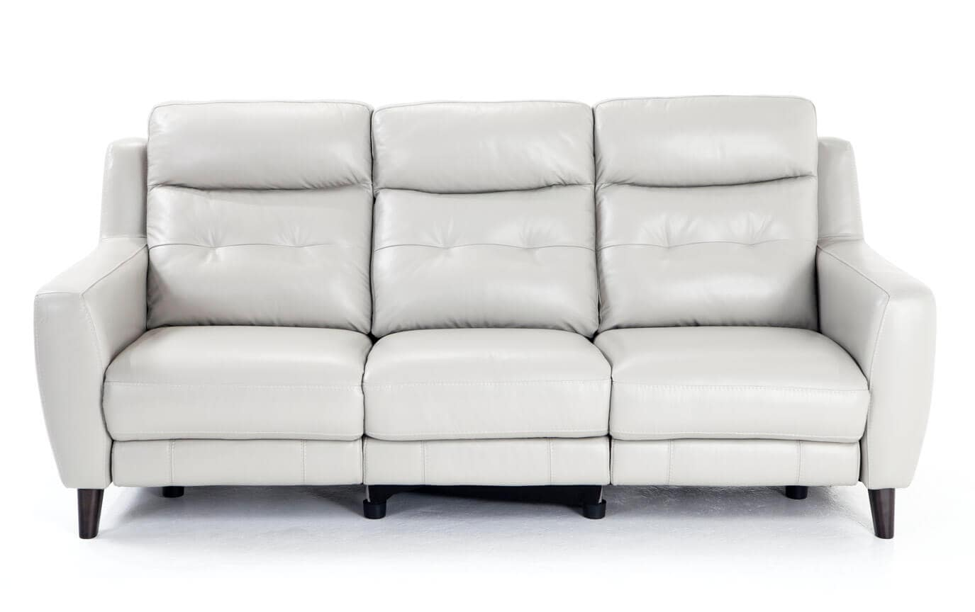 Stratus Leather Power Reclining Sofa