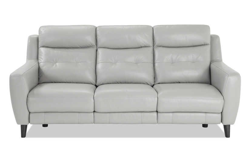 Merveilleux Stratus Leather Power Reclining Sofa