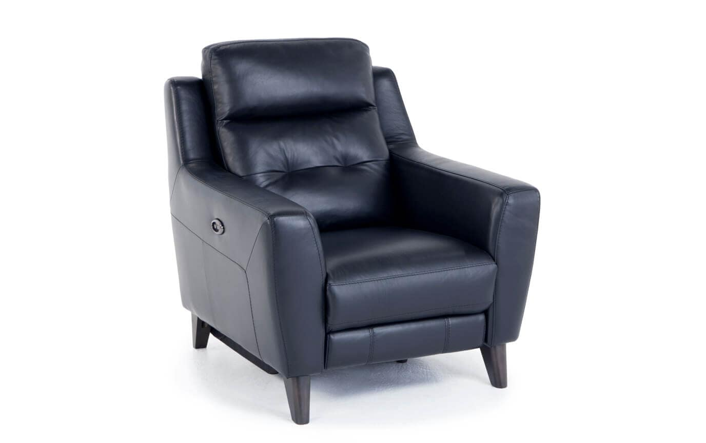 Stratus Leather Power Recliner Bobs Com