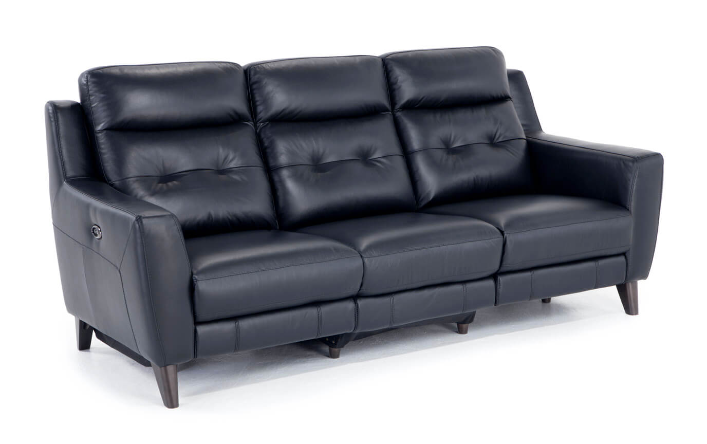 Stratus Leather Power Reclining Sofa