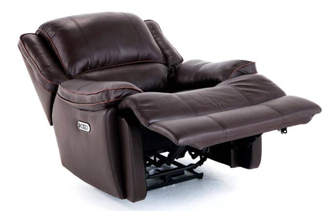 Phoenix Leather Power Recliner