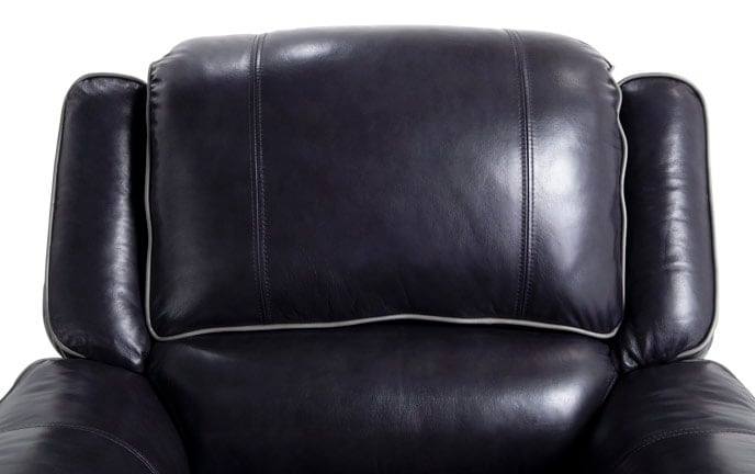 Phoenix Power Black Leather Recliner  sc 1 st  Bobu0027s Discount Furniture & Recliners | Bobu0027s Discount Furniture