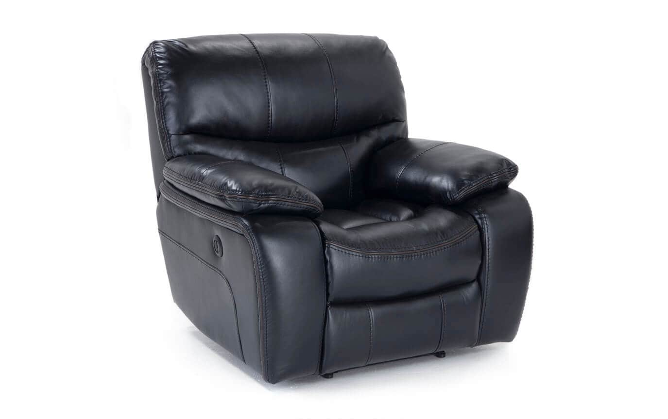 Avenger Black Power Recliner Bobs Com