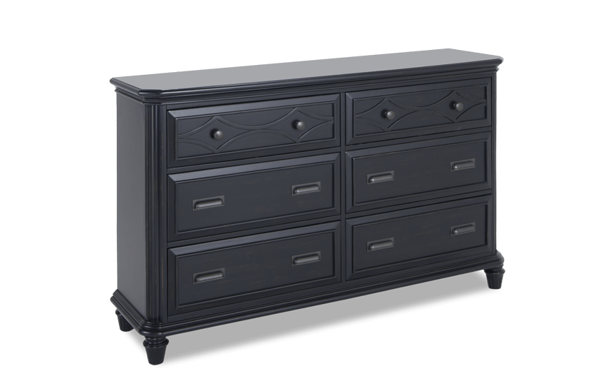 Mystic Bay Black Dresser