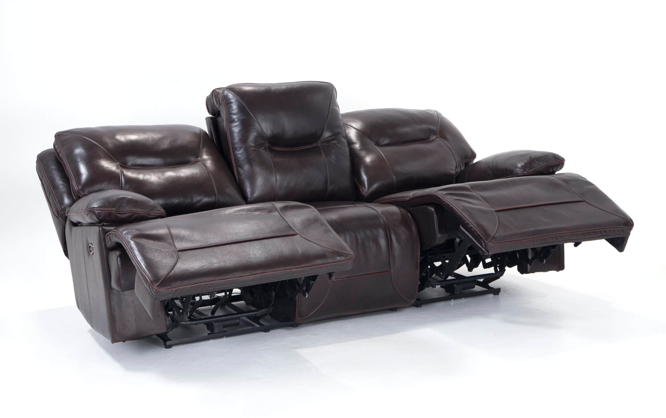 Picture of: Marco Leather Power Reclining Sofa Bobs Com