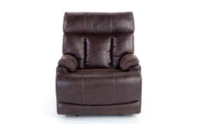 Touchdown Brown Lay-Flat Power Recliner