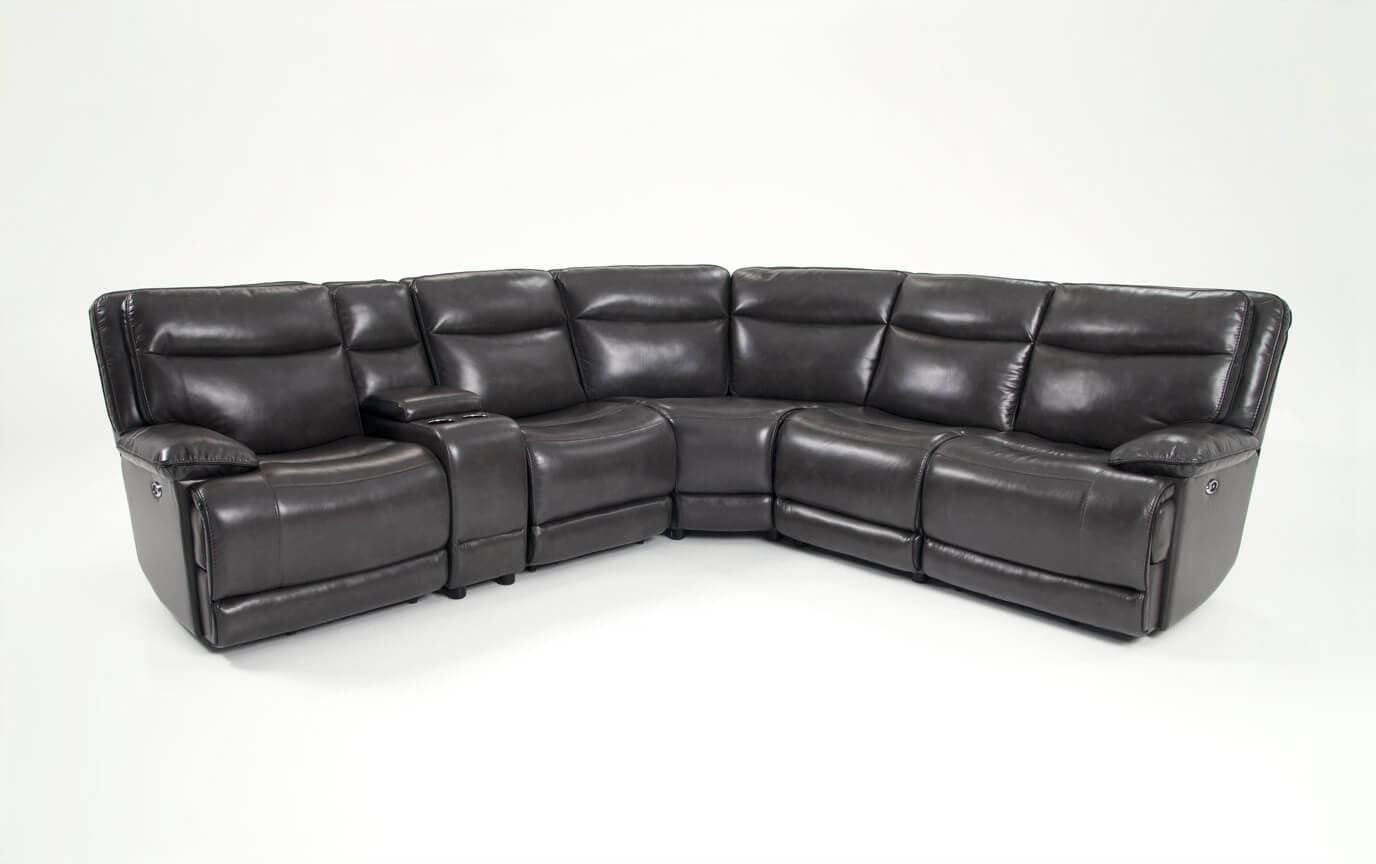 Supernova Power Reclining 6 Piece Sectional