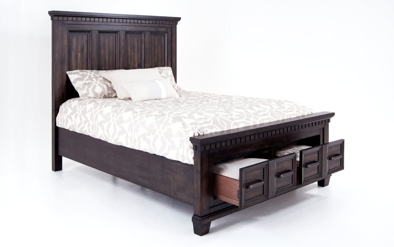 Beau Laredo Queen Storage Bed