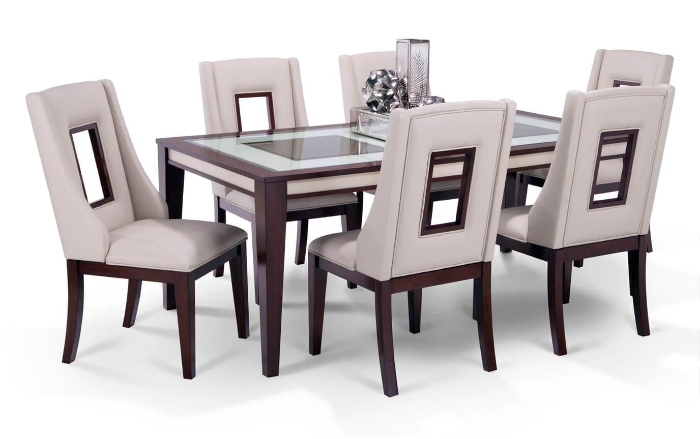 Kenzo 9 Piece Curio Dining Set | Bob\'s Discount Furniture