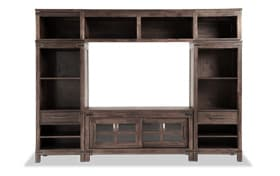 Boulder 4-pc. Wall Unit w/ 52'' TV Console