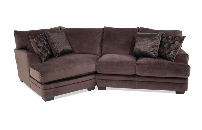 Charisma 2 Piece Right Arm Facing Sectional with Cuddler Chaise