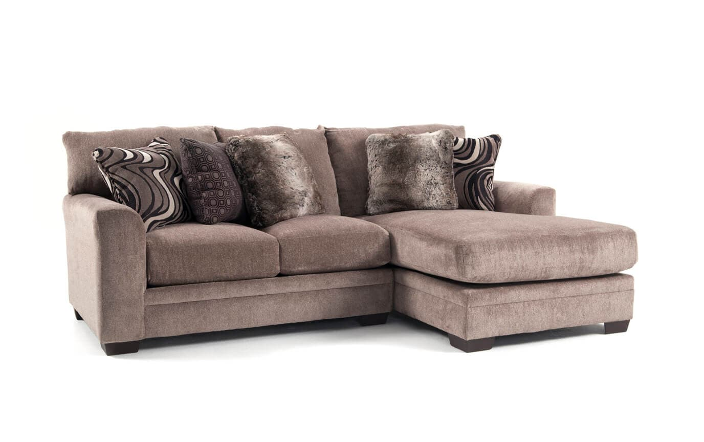 Luxe 2 Piece Left Arm Facing Sectional With Chaise