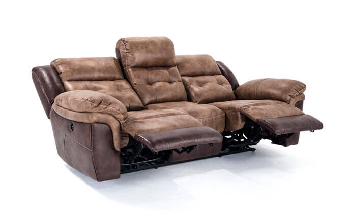 Marco Leather Power Reclining Sofa Bob S Discount Furniture