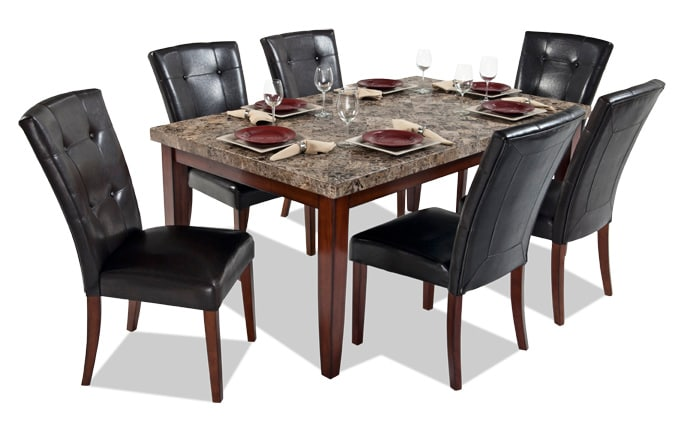 Savannah 6 Piece Dining Set With Storage Bench Bob S Discount