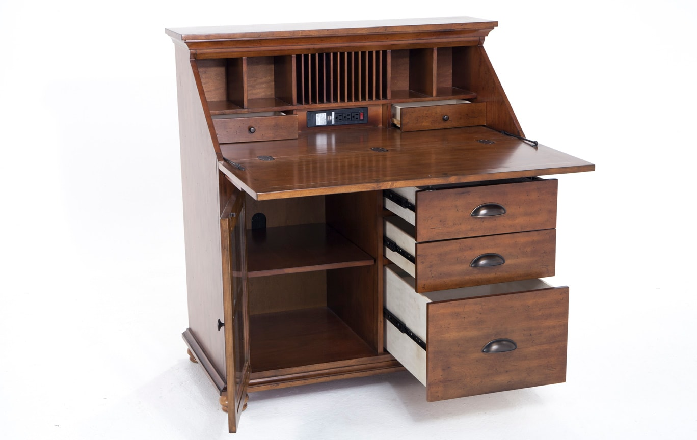 Hampstead Drop Lid Desk