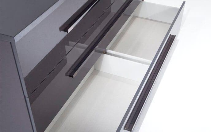 Platinum Dresser & Mirror