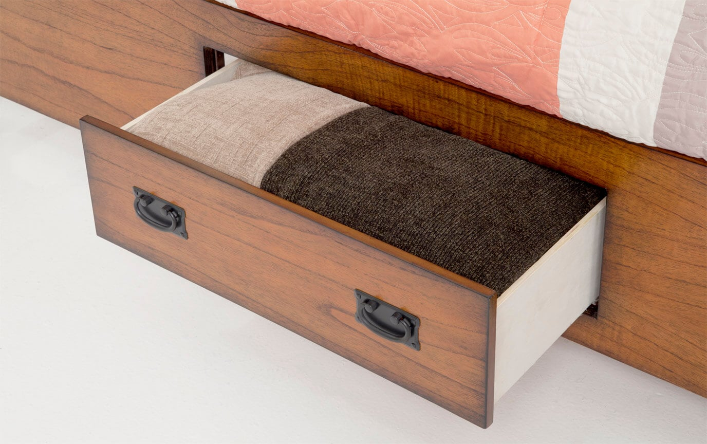 Mission Oak Twin Storage Bed Discontinued