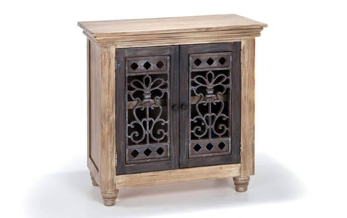 2 Door Metal Front Cabinet