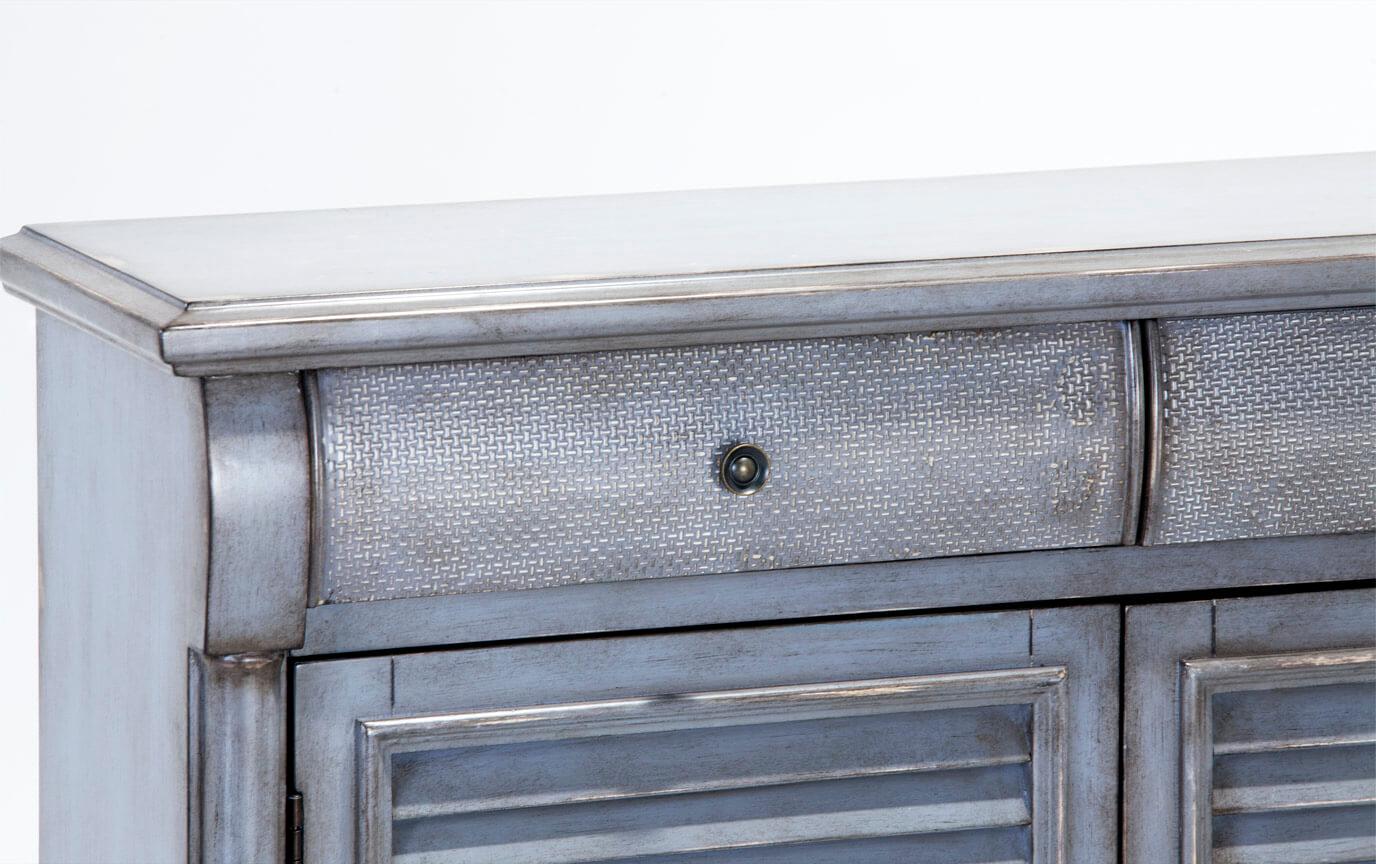Farmhouse Gray Cabinet