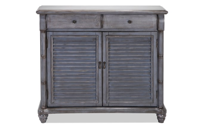 Farmhouse Gray Cabinet