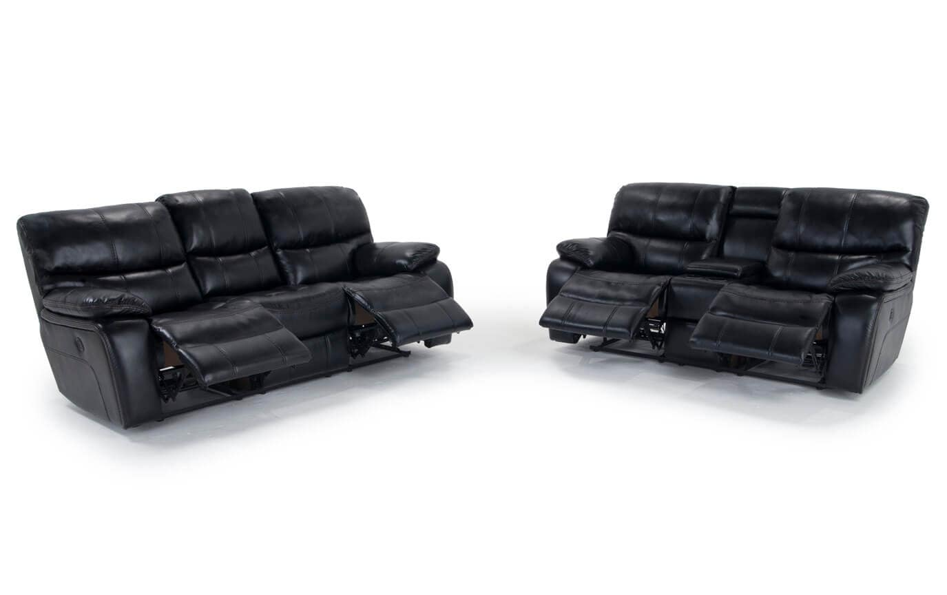 Avenger Power Reclining Sofa & Power Reclining Console Loveseat