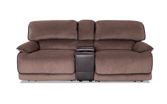 Dawson Dual Power Console Loveseat