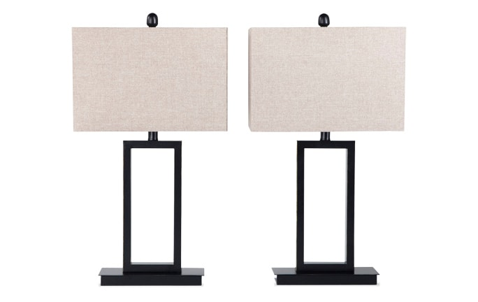 Set of 2 Gateway Table Lamps