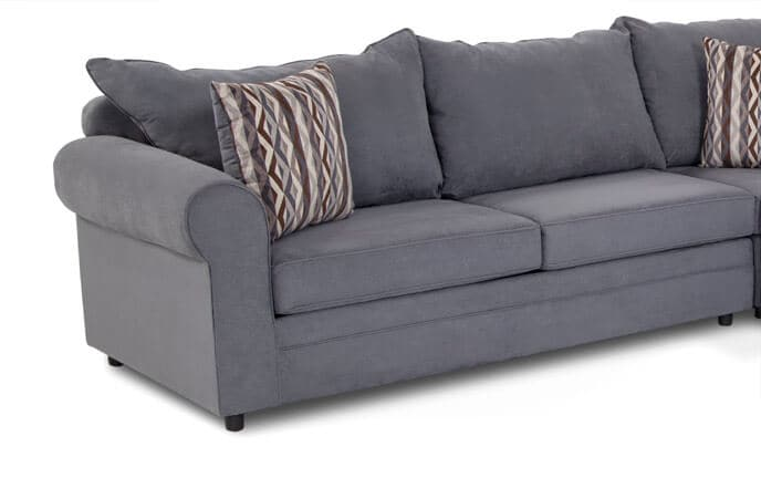 Venus 3 Piece Innerspring Full Sleeper Sectional