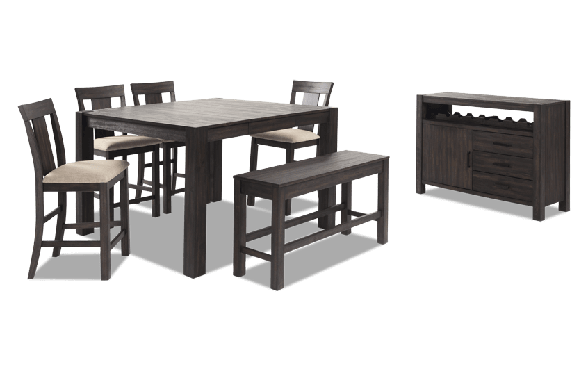 Summit 54  sc 1 st  Bobu0027s Discount Furniture : counter table set - Pezcame.Com
