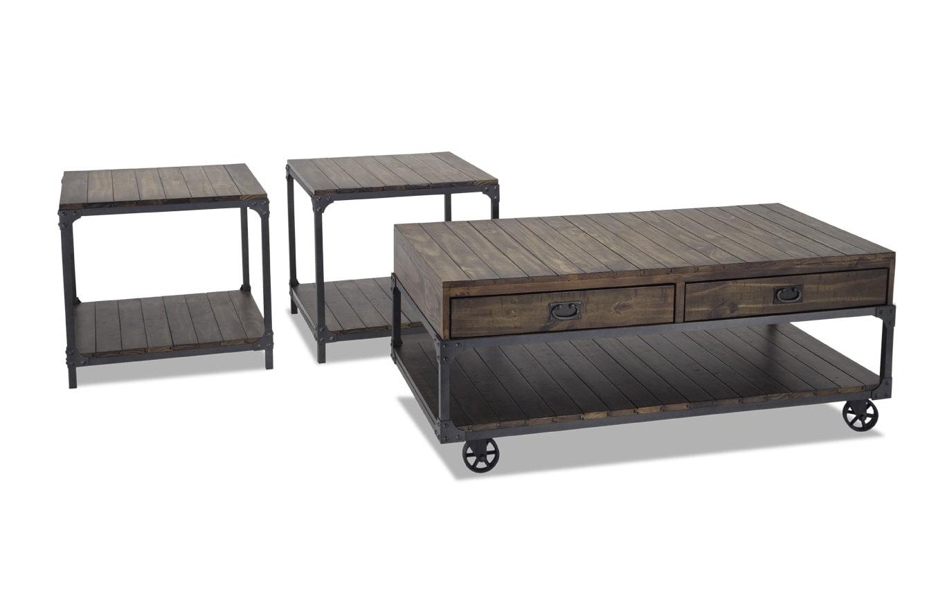 Rivet Coffee Table Set