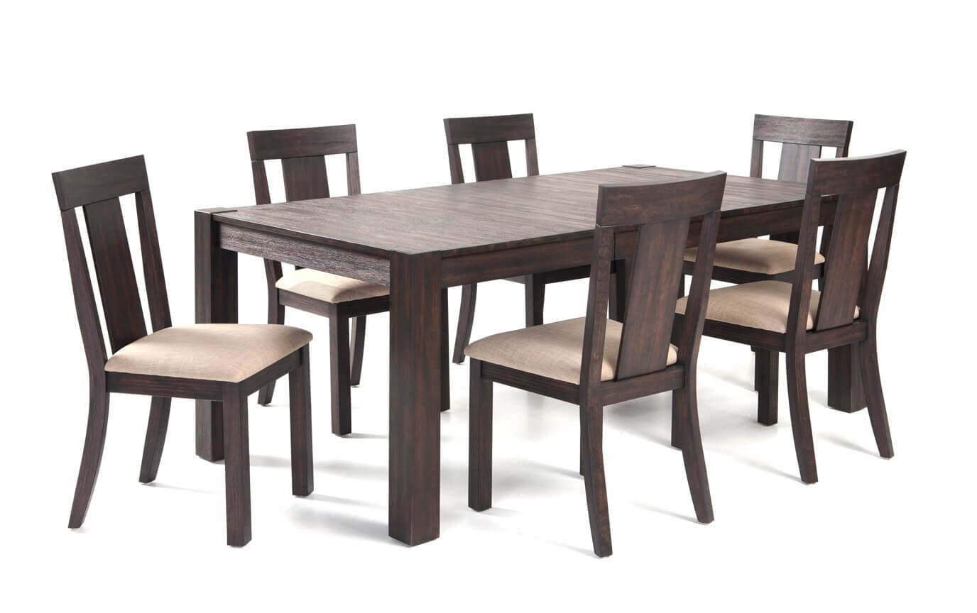 Summit 42 X 78 7 Piece Dining Set Bob S Discount Furniture