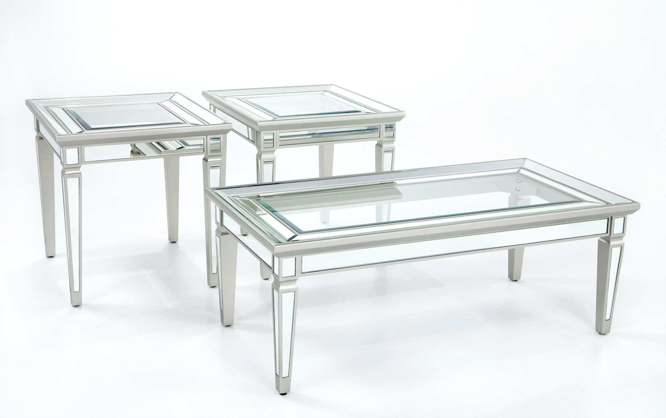 Picture of: Reflection Coffee Table Set Bobs Com