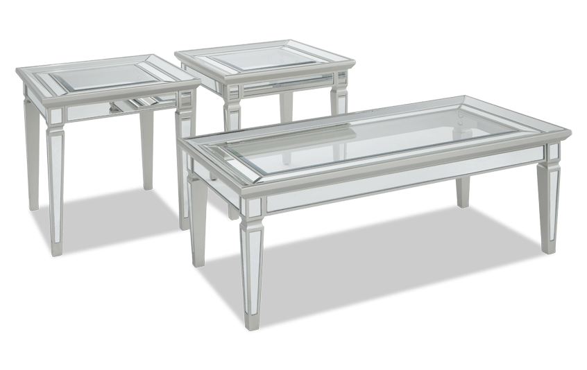 Reflection Coffee Table Set Bobscom