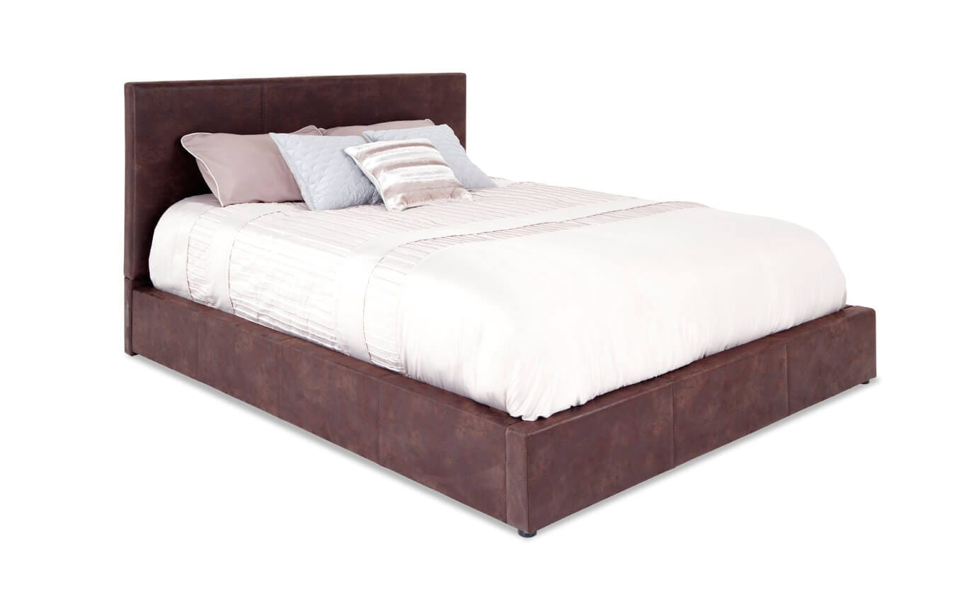 austin upholstered bed bob s discount furniture