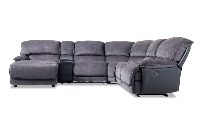 Dawson Power 6 Piece Right Arm Facing Sectional