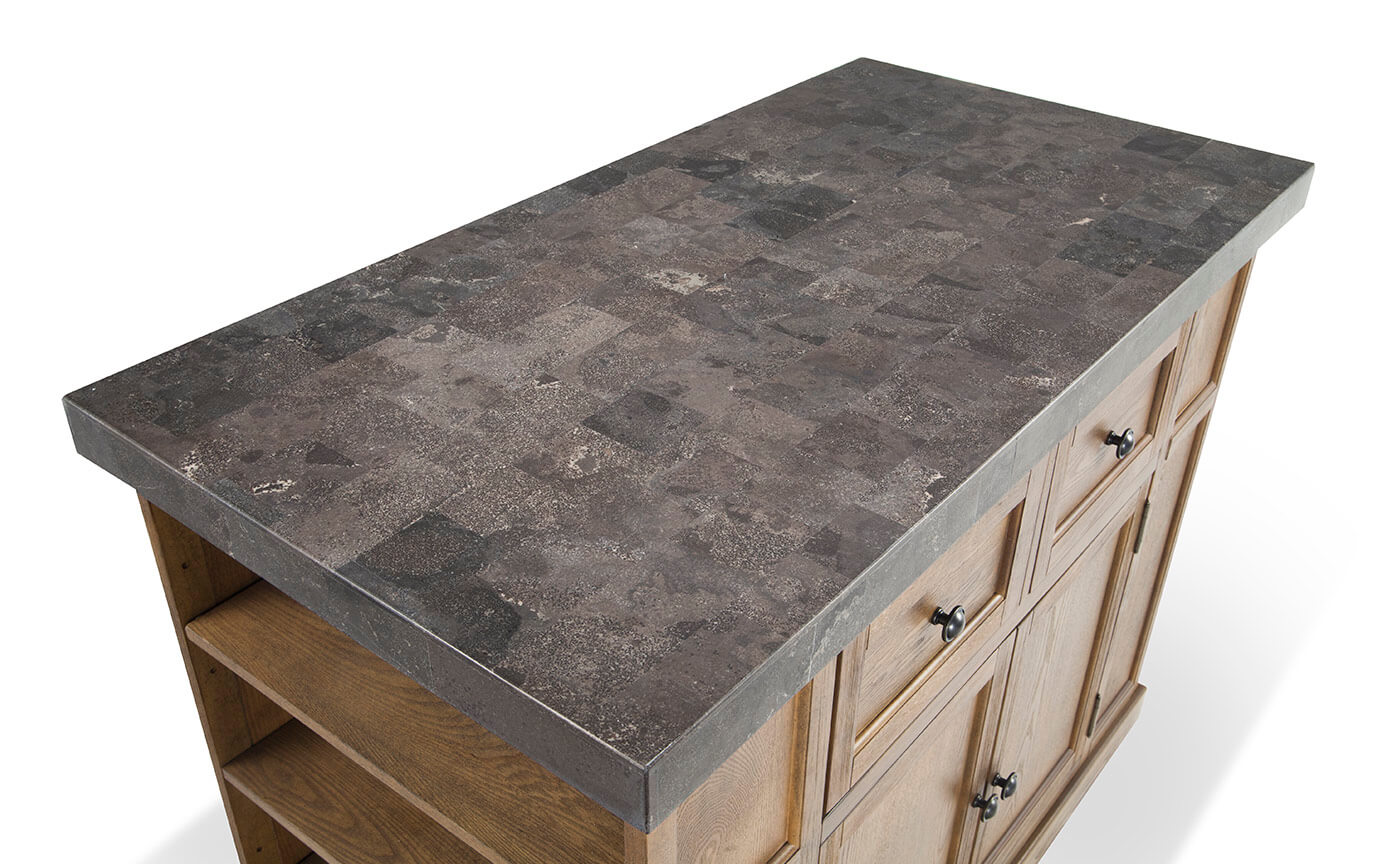 Montibello Marble Top Kitchen Island