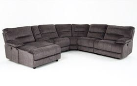 Pacifica Power Reclining 6 Piece Right Arm Facing Sectional