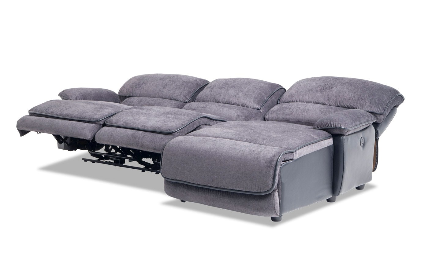 Dawson 3 Piece Power Reclining Left Arm Facing Sectional
