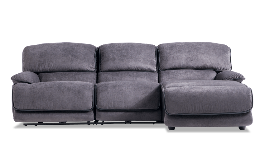 Dawson Power 3 Piece Left Arm Facing Sectional