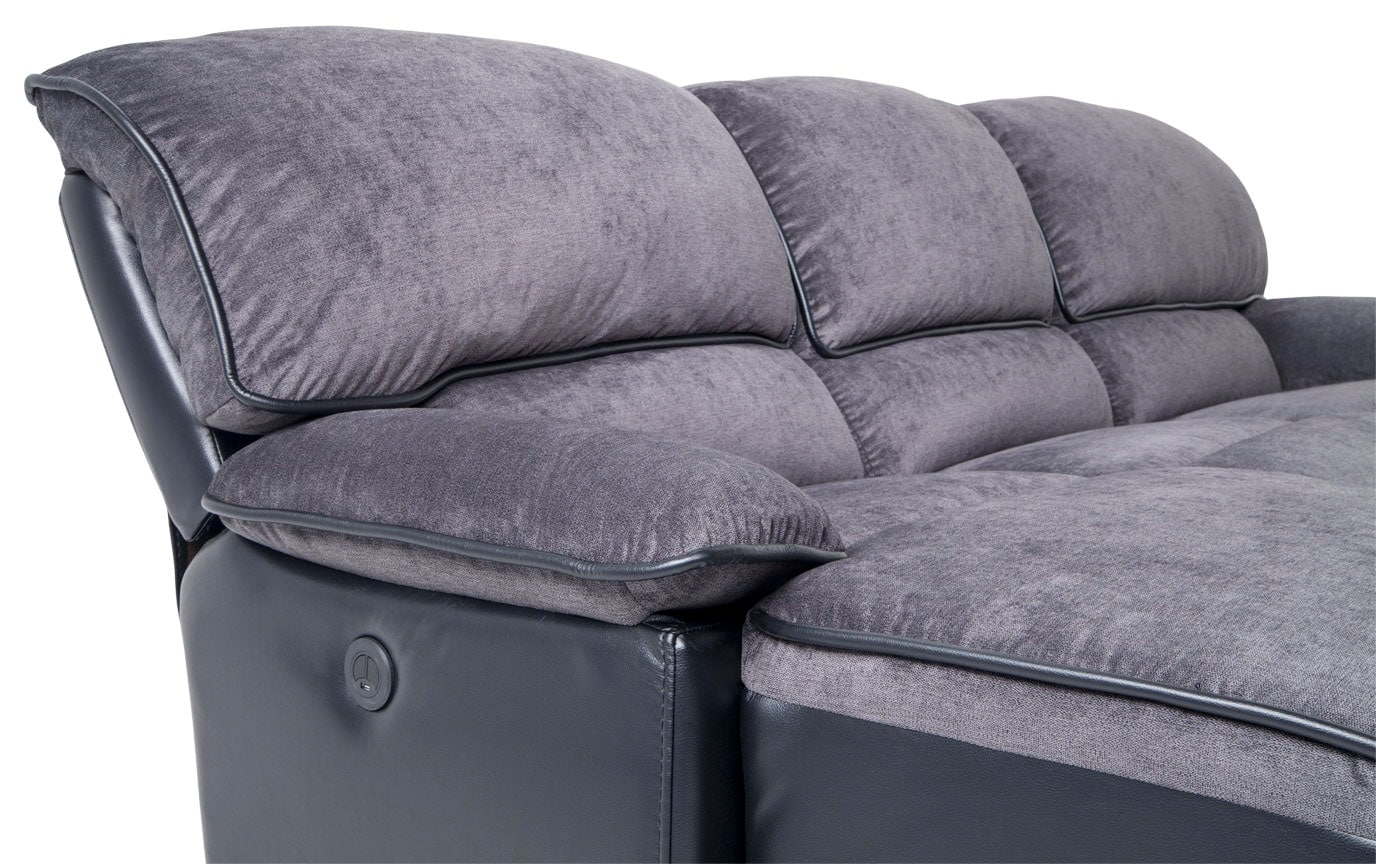 Dawson 3 Piece Power Reclining Right Arm Facing Sectional