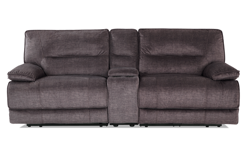 Pacifica Power Reclining Console Loveseat
