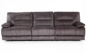 Pacifica Gray Power Reclining Sofa