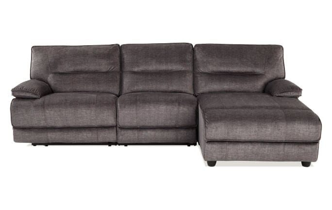 Pacifica Power Reclining 3 Piece Left Arm Facing Sectional