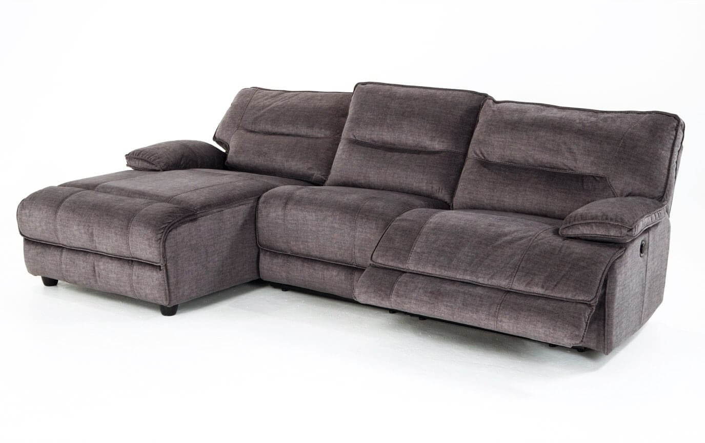 Pacifica Power Reclining 3 Piece Right Arm Facing Sectional