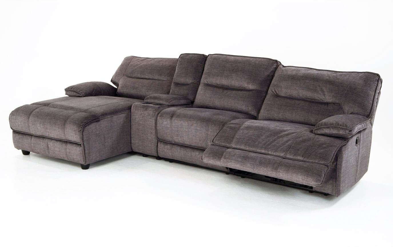 Pacifica Power Reclining 4 Piece Right Arm Facing Sectional