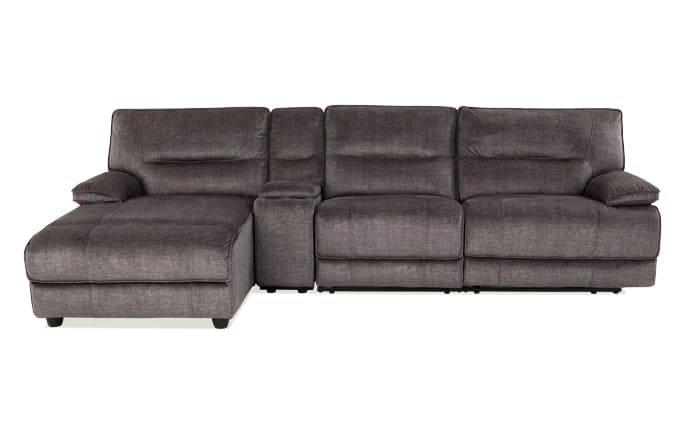 Pacifica 4 Piece Power Reclining Right Arm Facing Sectional